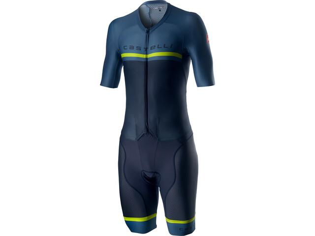 Castelli Sanremo 4.0 Combinaison Speed Homme, dark steel blue